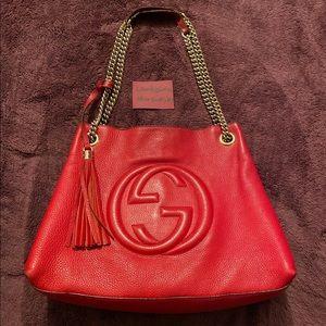 Gucci Soho Chain Strap Bag